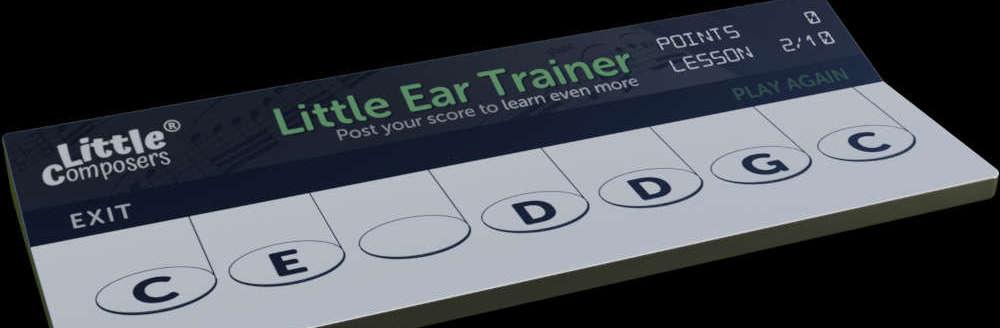 new beginner ear trining app