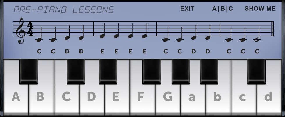 free pre piano lessons